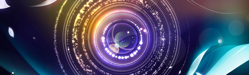 Abstarct Camera Lens